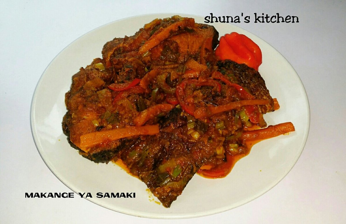 MAKANGE YA SAMAKI/FISH MAKANGE (English & Swahili)